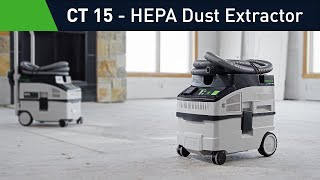 CT 15 Dust Extractor from Festool USA
