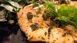 Chicken Picante - Super Fast