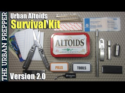 Urban Altoids Survival Tin (v2.0) by TheUrbanPrepper