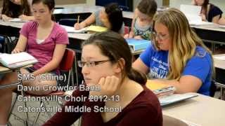 """Shine Your Light Music Video - Catonsville Choir - """"SMS """""""