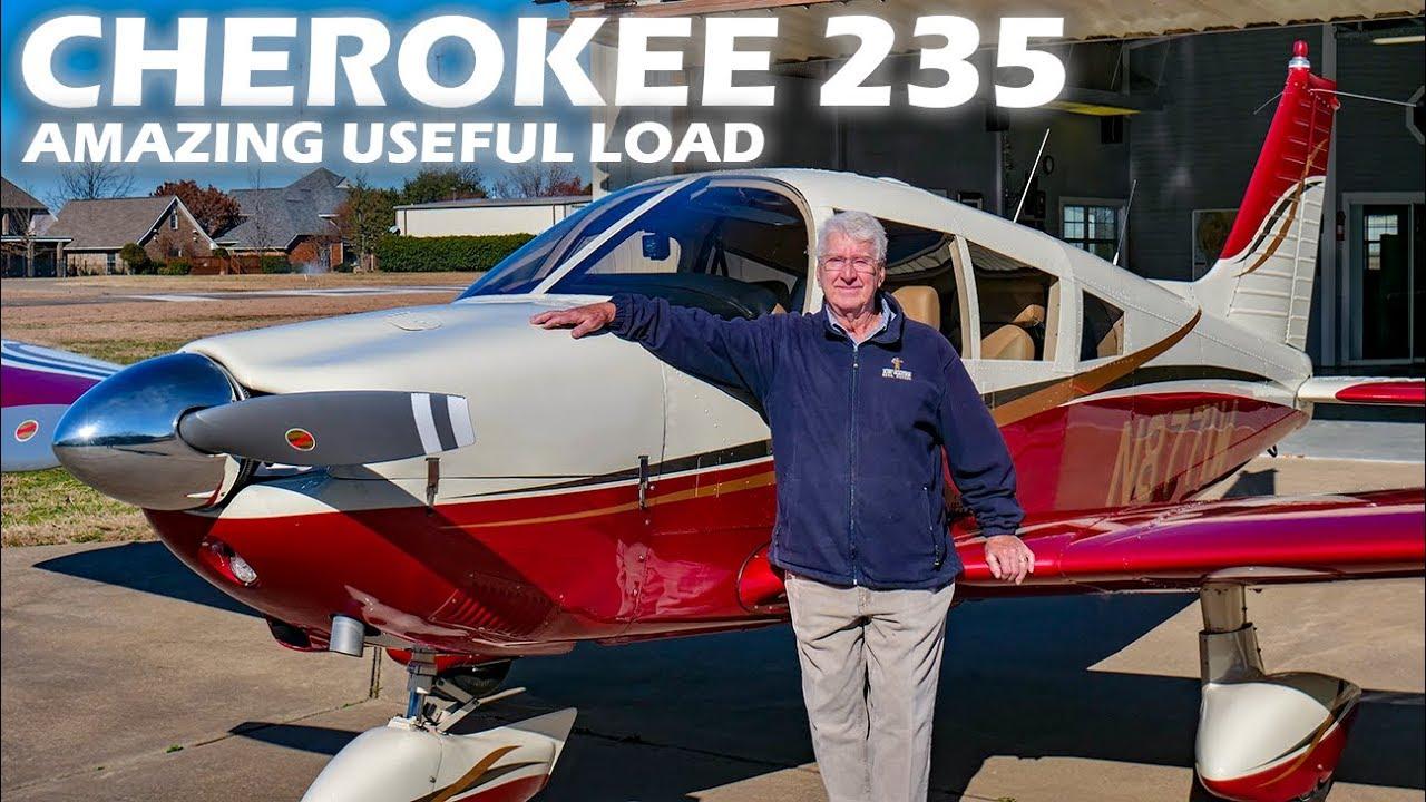 Piper Cherokee 235 - Amazing Useful Load
