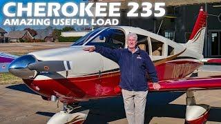 Piper Cherokee 235 - Amazing Useful Load