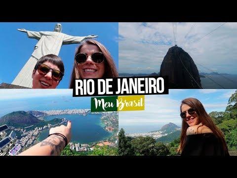 UM DIA NO RIO DE JANEIRO - Principais Pontos Turísticos | Mi Alves