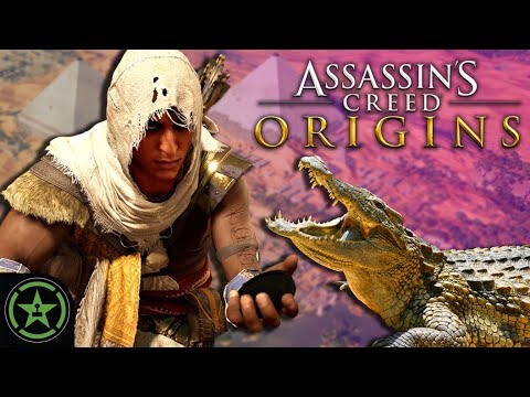 Let's Watch - Assassin's Creed: Origins - The Crocodile Hunt