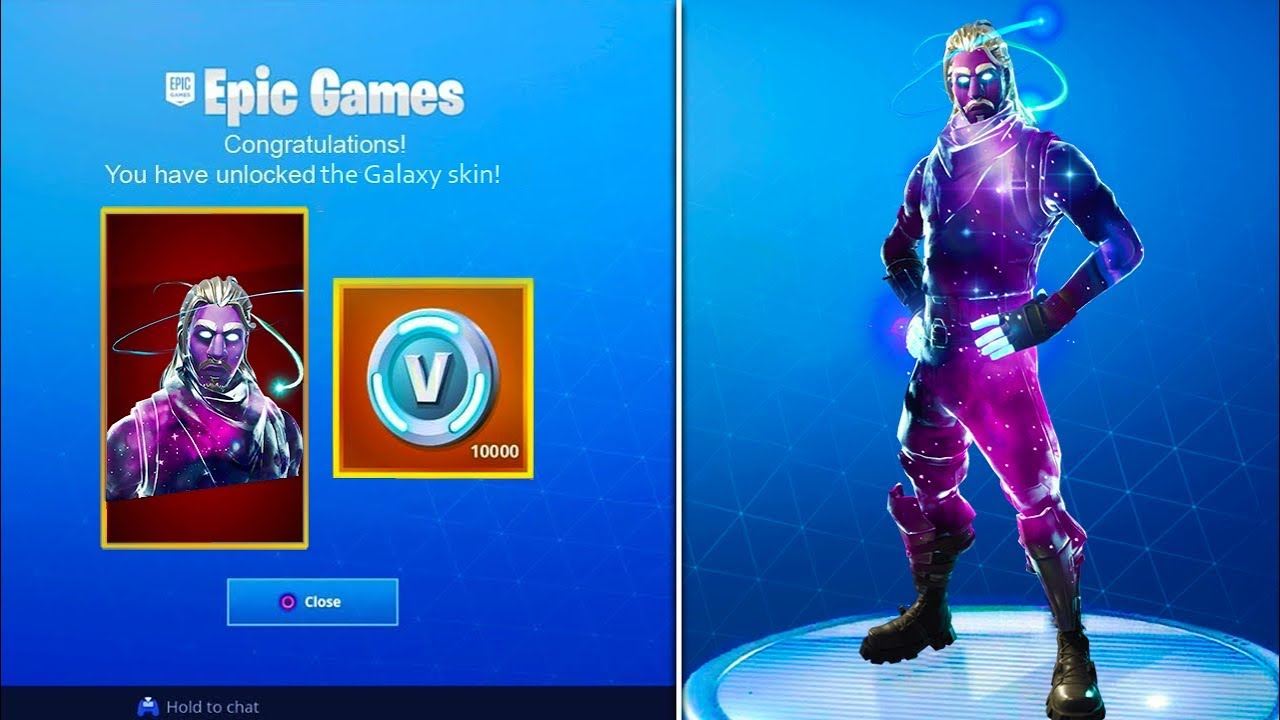 How to unlock new exclusive galaxy skin fortnite battle royale galaxy skin unlocked youtube - Fortnite galaxy skin free ...
