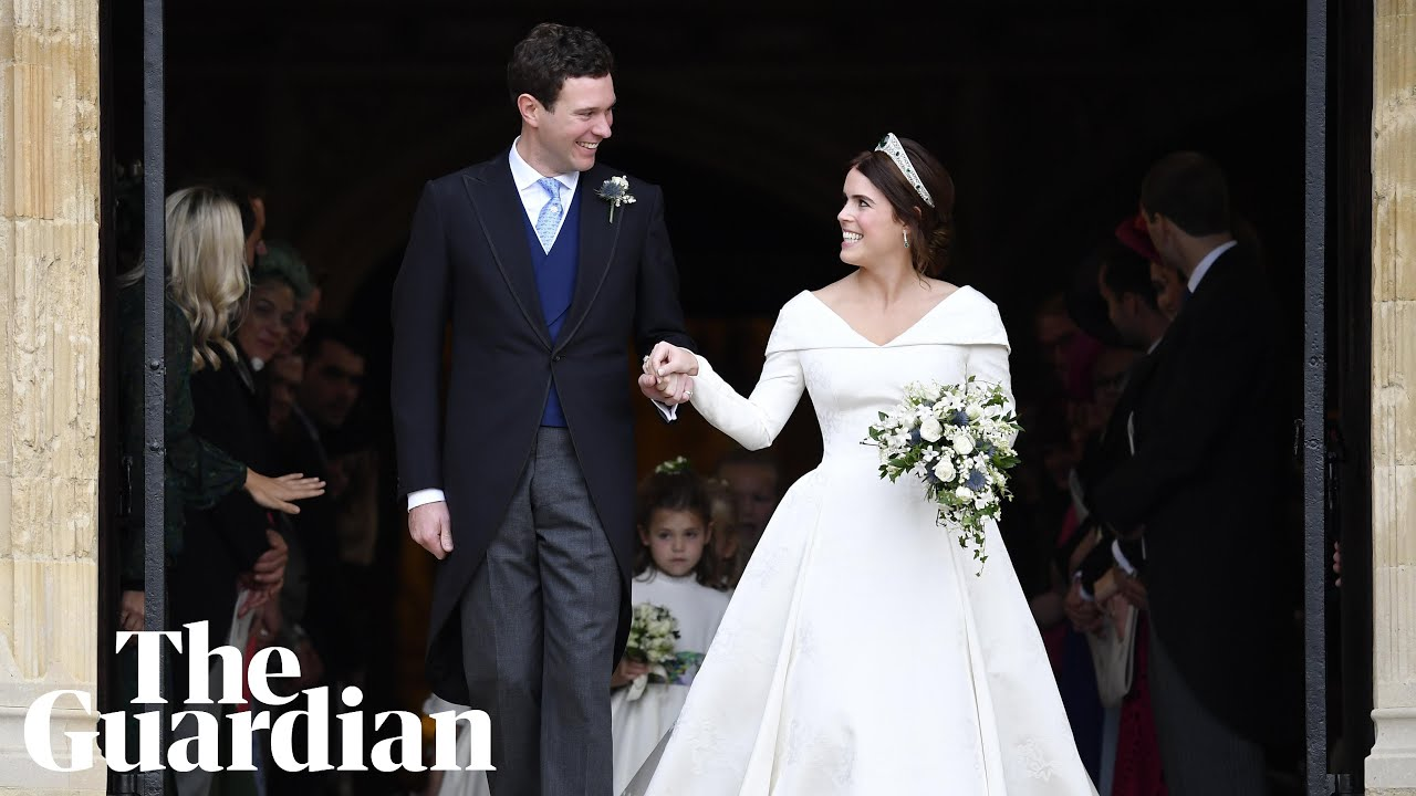 Royal Wedding Party.Princess Eugenie And Jack Brooksbank Video Highlights Of The Royal Wedding