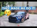 I Took The American Flag Wrap OFF! Here's Why...