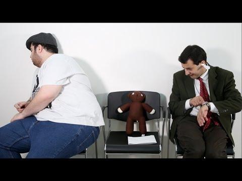 Mr Bean arabic at the Doctor Teddy is sick(مستر بين بالعربي يزور الطبيب(تيدي مريض