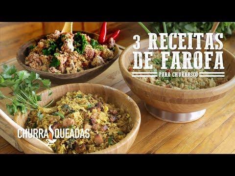3 Receitas de Farofa para Churrasco