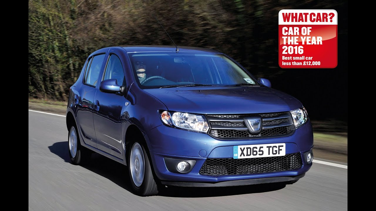 dacia sandero 2016 what car best small car less than 12 000 sponsored youtube. Black Bedroom Furniture Sets. Home Design Ideas