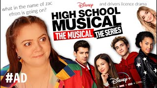 high school musical the musical the series was not what I expected... and some drivers license chat