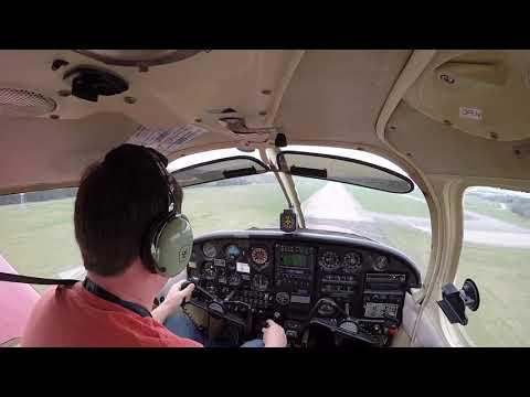 Piper Cherokee - new technique for great landings!