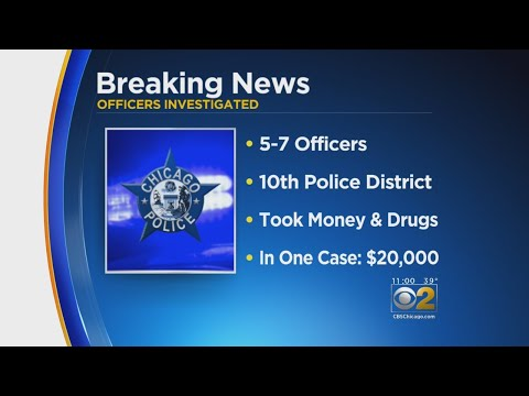 Sources: Feds Arrest 6 Chicago Cops For Stealing Cash, Drugs From Dealers