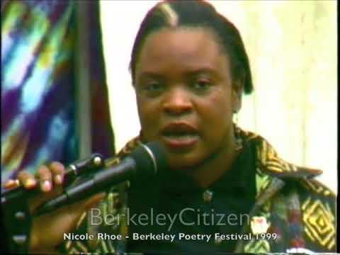 Nicole Rhoe - Berkeley Poetry Festival 1999