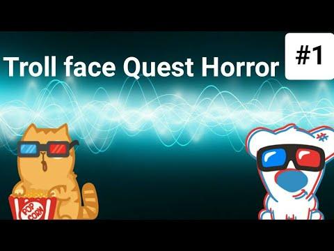 Troll Face Quest Horror #1 тролим ужастики