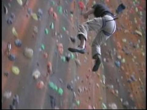 Indoor Rock Climbing Techniques : How to Fall when the ...