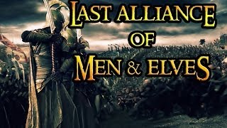 LAST ALLIANCE OF MEN & ELVES!! BFME2: RotWK Custom Maps