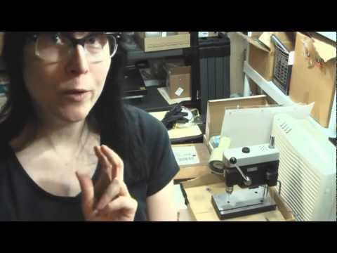 Make Your Own Printed Circuit Boards Part 3 - Drill!