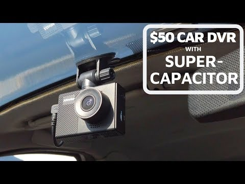 GOOD Dashcam With SuperCapacitor Below $50: Alfawise G70 [review & Test]
