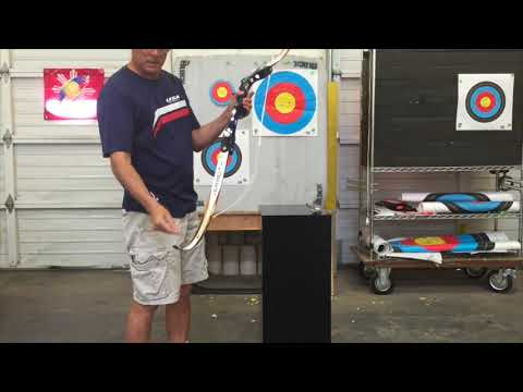 How to setup and tune an Olympic Recurve bow Part 1