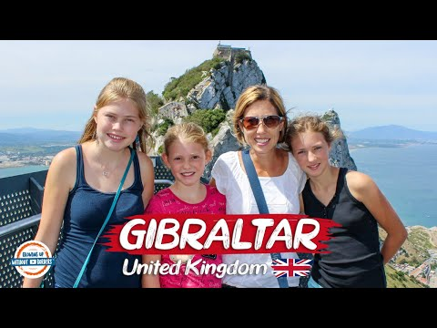 The Rock of Gibraltar - Top Things To See and Do | 90+ Countries With 3 Kids