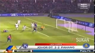 Liga Super 2014: JDT vs Pahang (2-2)