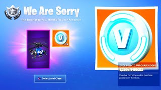 Fortnite's BIGGEST Mistake.. (FREE ITEMS)
