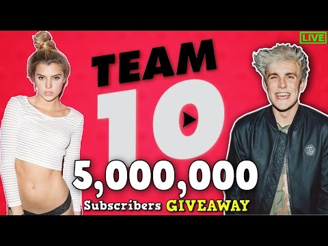 Thumbnail: LIVE : Jake Paul Subscriber Count - Road to 5 MILLION!