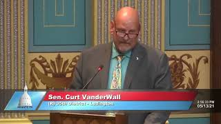Sen. Vanderwall speaks in support of Senate Bill 428