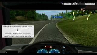 Euro Truck Simulator - Gameplay