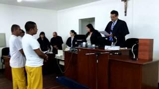 LEITURA DA SENTENÇA DOS RÉUS JOSE ROBERTO E AURICEU SUTERIO
