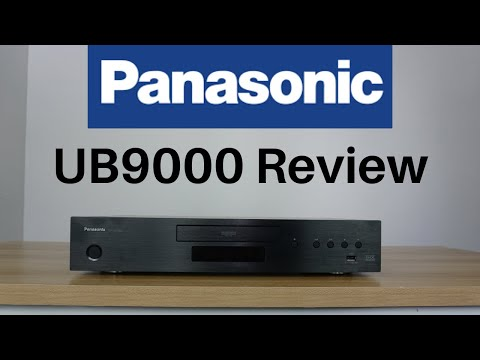 Panasonic UB9000 4k HDR Player review