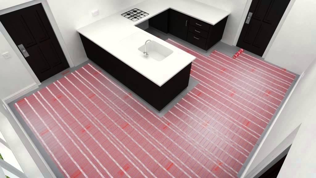 Warmup Underfloor Heating Mat Installation Guide Youtube