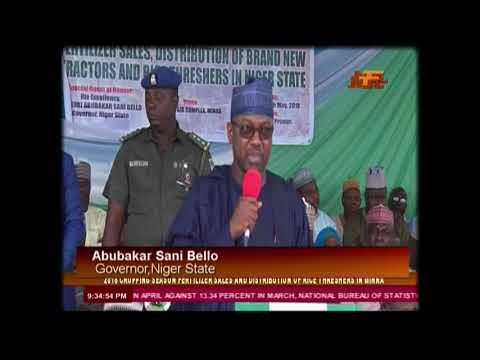 NTA Network News: Niger State 2018 Cropping Season Fertilizer Sales