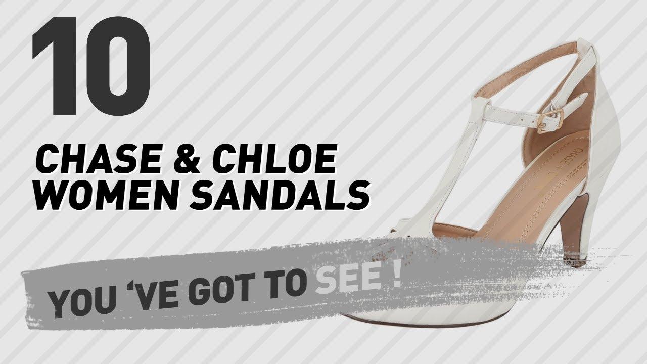 90ac20ca889 Chase   Chloe Women Sandals    New   Popular 2017 - YouTube