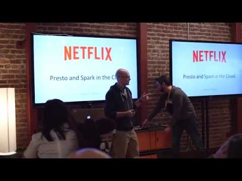 AWS San Francisco Big Data Meetup  Netflix  Presto and Spark in the Cloud
