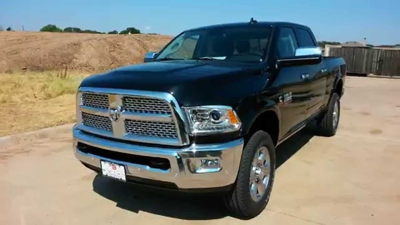 all new 2016 ram 2500 4x4 laramie cummins diesel 6 7l t doovi. Black Bedroom Furniture Sets. Home Design Ideas