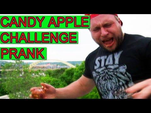 Candy Apple Challenge - Onion Switch Prank