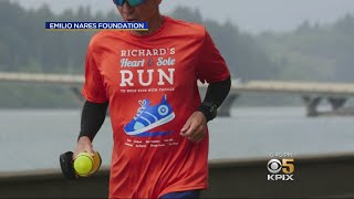 Dad Runs 1000s Of Miles To Help Kids With Cancer In Honor Of His Son