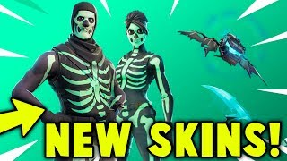 UNLOCKING THE SKULL TROOPER + SKULL RANGER in Fortnite Battle Royale! (NEW SKULL SQUAD SKINS)