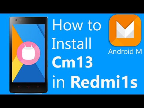 Xiaomi Redmi 1s-How to Install Cm13 [ Android Marshamallow 6.0 ]