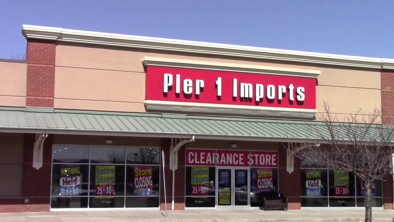 STORE CLOSING: Liquidation Sales at Pier 1 Imports ...