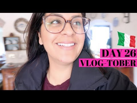 OUR BEST TRAVEL TIP  -  Vacation in Italy  |  VLOGTOBER Day 26, 2018