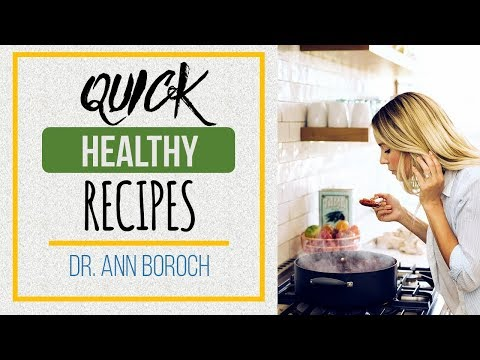 How to make EASY HEALTHY MEALS | Quick and  Easy Food | Healthy food recipes | Ann Boroch´s cookbook