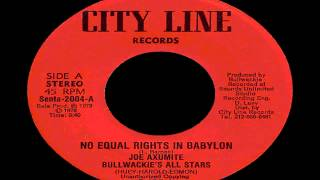 Joe Axumite - No Equal Rights in Babylon.mp4