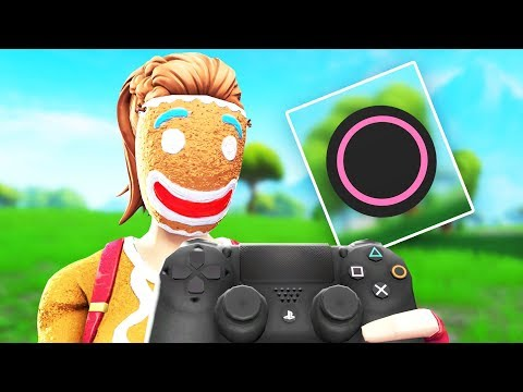 I use CIRCLE to EDIT FAST on FORTNITE