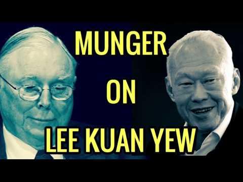 Charlie Munger on Lee Kuan Yew & Singapore
