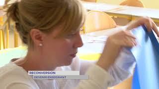 Reconversion : devenir enseignant