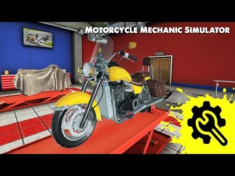 Mechanic Games - Motorcycle Mechanic Simulator Android/iOS  ᴴᴰ