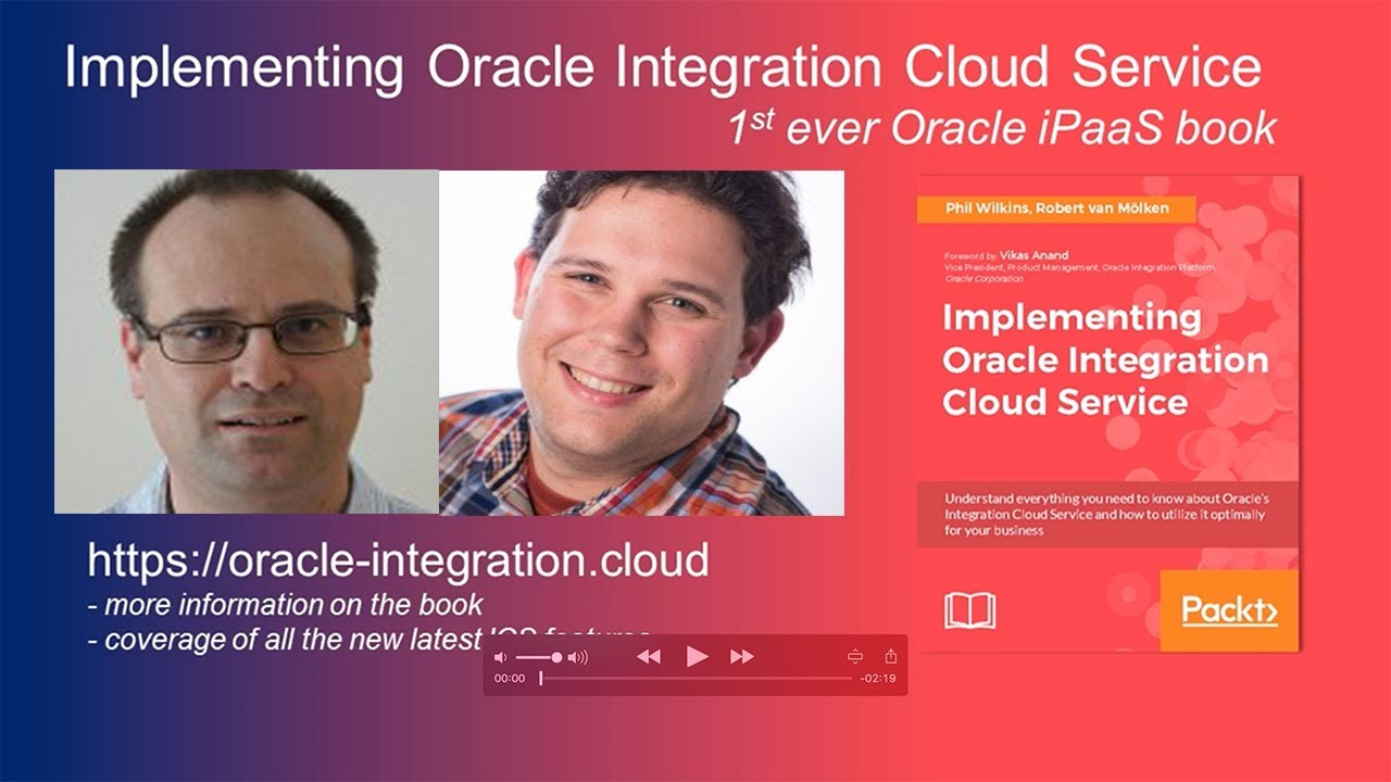 Integration Archives - Implementing Oracle Integration Cloud Service